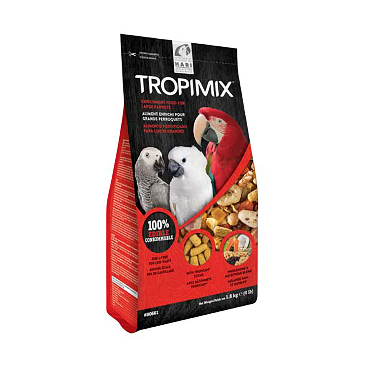 Image of Hari Tropimix per Pappagalli Grandi : 1,8 kg