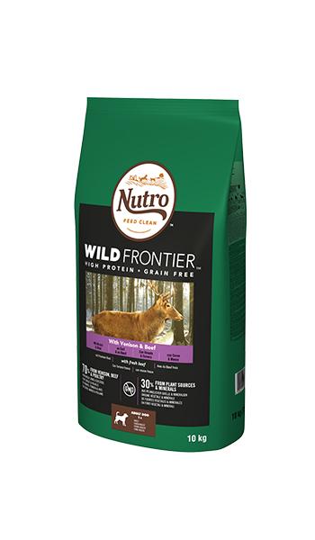Image of Nutro Wild Frontier Adult Cervo e Manzo: 10 Kg