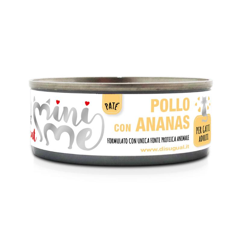 Disugual Mini Me Monoproteico con Frutta 85 gr Pollo con Ananas
