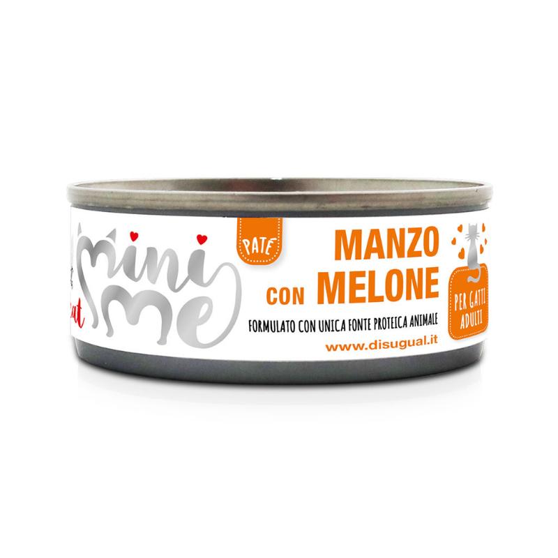 Disugual Mini Me Monoproteico con Frutta 85 gr Manzo con Melone