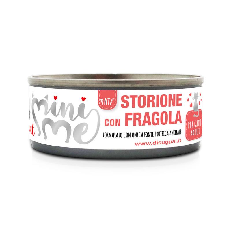 Disugual Mini Me Monoproteico con Frutta 85 gr Storione con Fragola